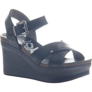 OTBT Women's Bee Cave Black Leather