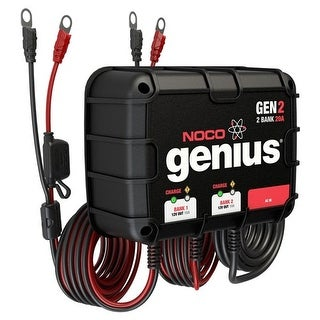 Noco Genius GEN2 20A Onboard Battery Charger - 2 Bank Onboard Battery Charger