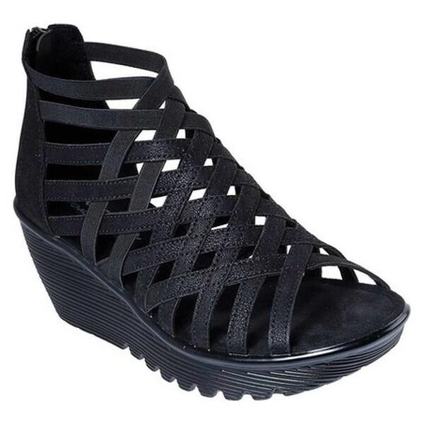 Skechers Women's Parallel Dream Queen Wedge Sandal Black