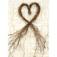Heart Dragon Vine Wreath