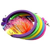 """Bates Hoop-La Embroidery Hoop&Frame 4"""" Astd Color"""