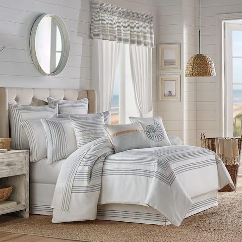 Five Queens Court William Coastal Comforter Set