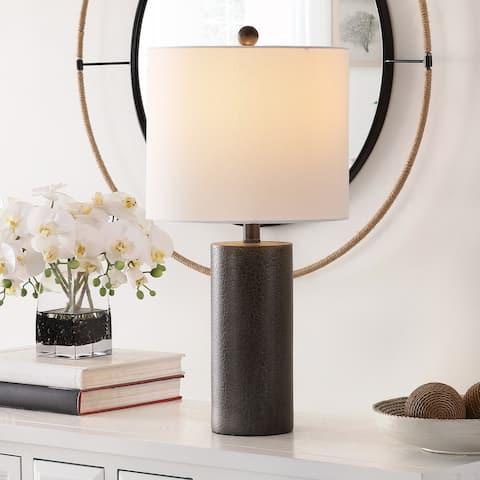 "SAFAVIEH Lighting 24-inch Nori Polyresin Table Lamp - 12"" x 12"" x 24"""