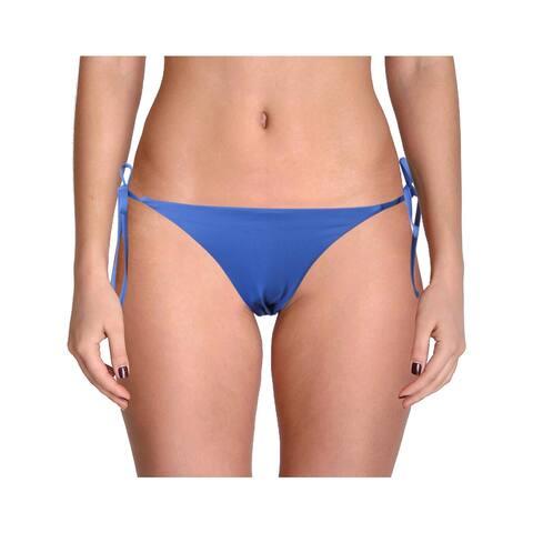 Becca Womens Side Tie Bikini Swim Bottom Separates