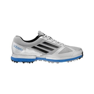 Adidas Men's Adizero Sport Silver/Blue Golf Shoes 672247
