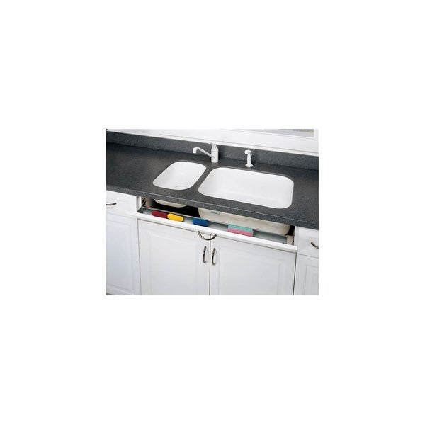 Rev A Shelf 6541 36sc 50 Slim Line 36 Series Sink Front Tip Out Trays With Soft Close Hinges Free Shipping On Orders Over 45