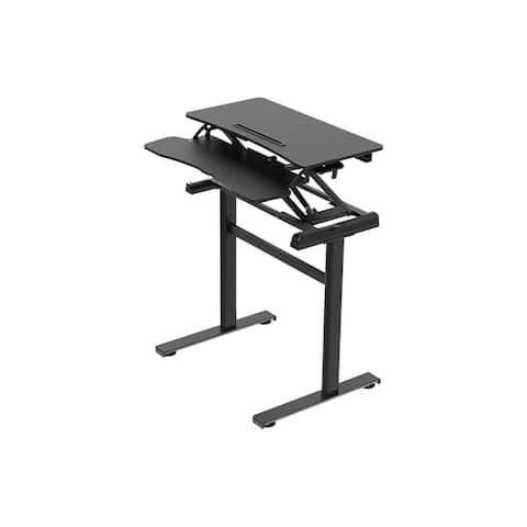 Workstream by Monoprice Mini Standalone Sit-Stand Desk - 31in, height-adjustable
