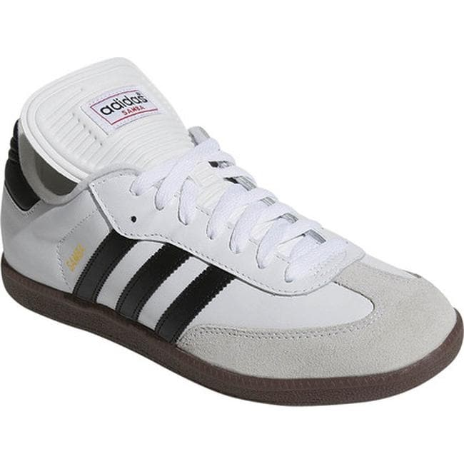3a04903e89d Shop adidas Men s Samba Classic Running White Black Running White - On Sale  - Free Shipping Today - Overstock - 22879185