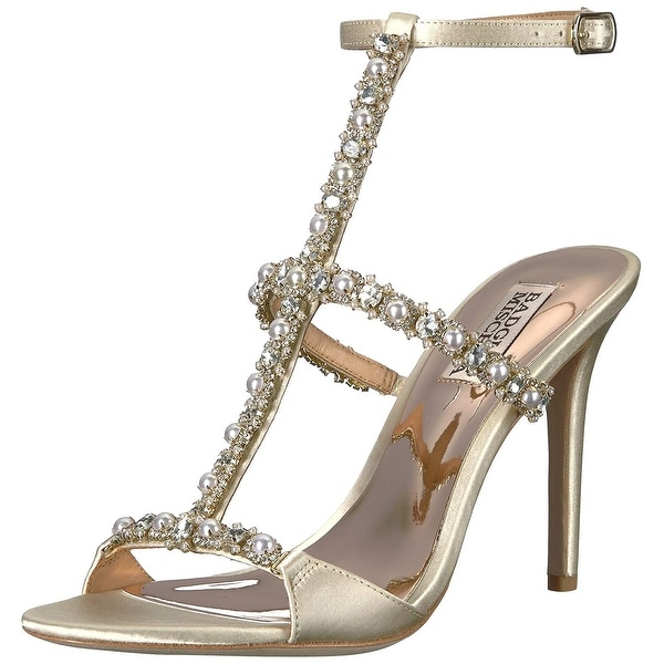 0e604ff16d02 Shop Badgley Mischka Women s Yuliana Heeled Sandal - Free Shipping ...