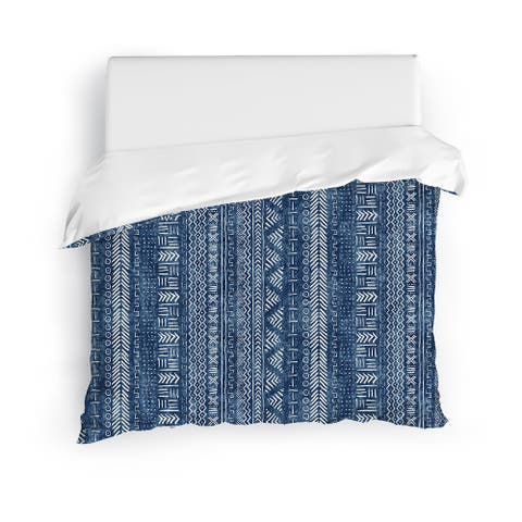 INDIGO LANDSCAPE Duvet Cover by Kavka Designs