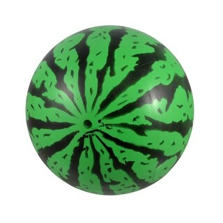 Realistic Green Black PVC Inflatable Watermelon Ball Toy for Kids