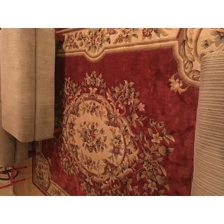 Nourison Chateau Rust Rug (7'9 x 9'9)