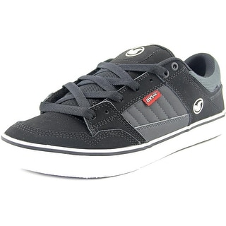 DVS Ignition CT Men Round Toe Leather Gray Skate Shoe