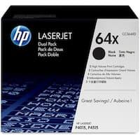 HP 304A Black Original LaserJet Toner Cartridge (CC364XD)(Single Pack)