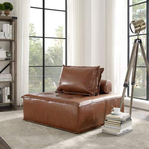 Art-Leon Modern Style Modular Cube Accent Seat with Pillows