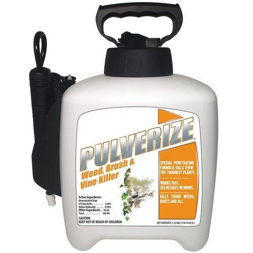 Shop Pulverize Pzbv Ps 133 Non Selective Weed Brush Vine Killer
