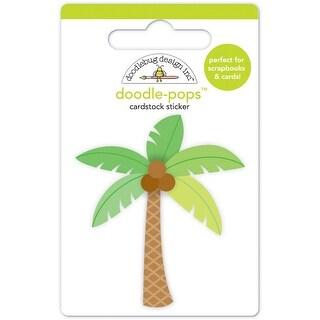 Doodlebug Doodle-Pops 3D Stickers-Paradise Palm