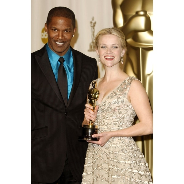 Shop Jamie Foxx Reese Witherspoon In The Press Room For Oscars 78Th Annual Academy Awards Kodak Theater Los Angeles Ca March 05 2
