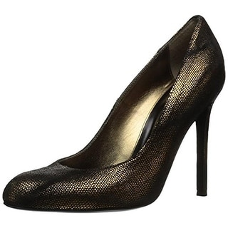 Just Cavalli Womens Pumps Leather Round Toe