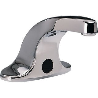 American Standard 605B.204  Selectronic 0.35 GPM Deck Mounted Electronic Bathroom Faucet with Touch-Free Sensor - Chrome