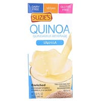 Suzie's Quinoa Milk Beverage - Vanilla - Case of 6 - 33.8 Fl oz. - 2 Pack