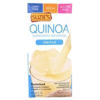 Suzie's Quinoa Milk Beverage - Vanilla - Case of 6 - 33.8 Fl oz.