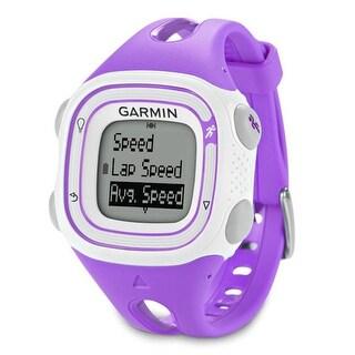 """Refurbished """"Garmin Forerunner 10 Violet & White GPS Running Watch"""""""