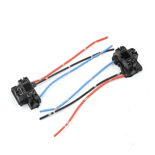 2 Pcs H4 Plastic Wire Wiring Car Head Light Harness Socket Connector ...
