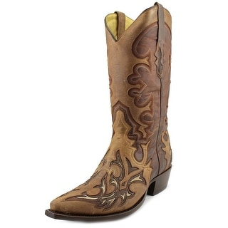 Corral G1144 Men Pointed Toe Leather Brown Western Boot