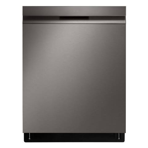 LG LDP6810BD Top Control w/ Towel Bar Wi-Fi Black Stainless Steel