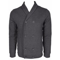 a74add031 BOSS Hugo Boss Black Label $295 Slim Fit Military Cardigan Sweater Shirt L