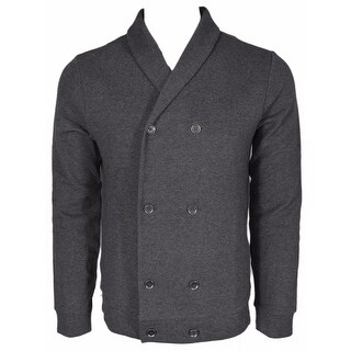BOSS Hugo Boss Black Label $295 Slim Fit Military Cardigan Sweater Shirt XL