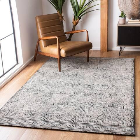 SAFAVIEH Handmade Abstract Zenzi Modern Wool Rug