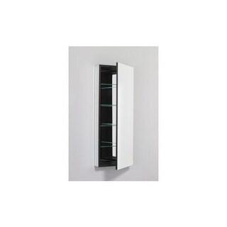 "Robern PLM1640LE PL 15"" x 40"" Frameless Medicine Cabinet Left Hinged with Flat M"