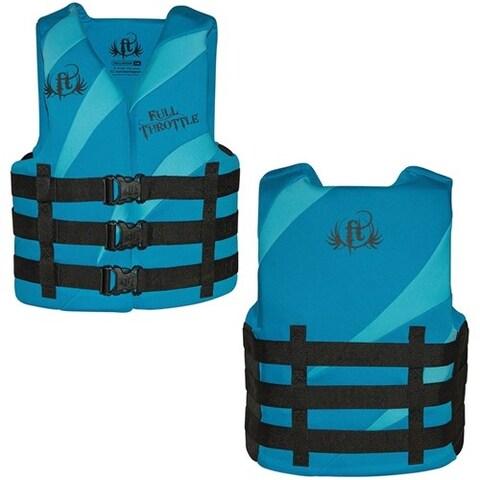 Full Throttle Rapid Dry PFD - Aqua/Blue Rapid Dry PFD - Aqua/Blue