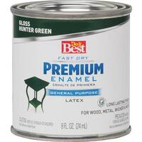 Rust-Oleum Huntr Green Latex Enamel 203335D Unit: HPT