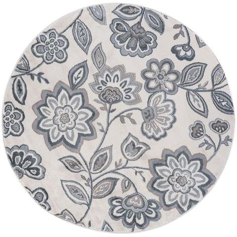 Alise Rugs Carrington Transitional Floral Runner Rug