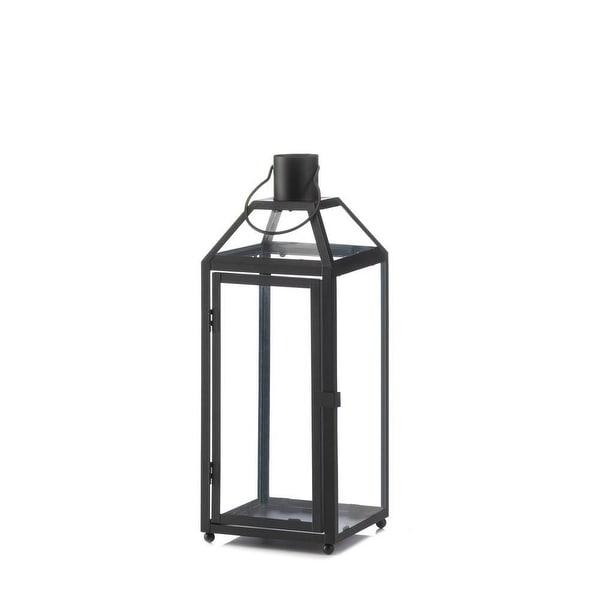 Retro Midtown Medium Black Lantern