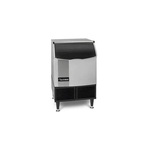 "Ice-O-Matic ICEU220HA 251 Lbs, 24"" Wide Undercounter - 115V, Half Cube - - Stainless Steel"