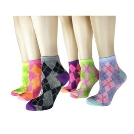 Women's 12 Pairs Pack Low Cut Colorful Fancy Design Ankle Socks|https://ak1.ostkcdn.com/images/products/is/images/direct/f6b774dffad86908cb4c44cba8d288804b5fd482/Women%27s-12-Pairs-Pack-Low-Cut-Colorful-Fancy-Design-Ankle-Socks.jpg?impolicy=medium