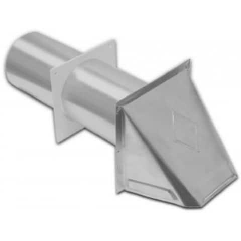 "Lambro 344S Aluminum Preferred Dryer Hood Vent, 4"""