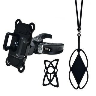 Fixm Universal 360 Degrees Rotating Bicycle Bike Motorcycle Phone Holder Mount Handlebar