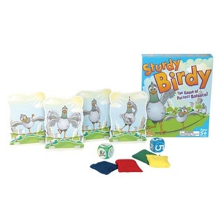 Fat Brain Toys Sturdy Birdy Coordination Game - multi-colored