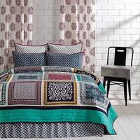 VHC Brands Mariposa Twin Set; Quilt 86x68-1 Sham 21x27