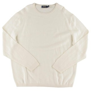 Polo Ralph Lauren Mens Pullover Sweater Linen/Cashmere Blend Crew Neck|https://ak1.ostkcdn.com/images/products/is/images/direct/f6ba73cfc0c420d9ddcbb8053f2c9907c59095bf/Polo-Ralph-Lauren-Mens-Pullover-Sweater-Linen-Cashmere-Blend-Crew-Neck.jpg?_ostk_perf_=percv&impolicy=medium