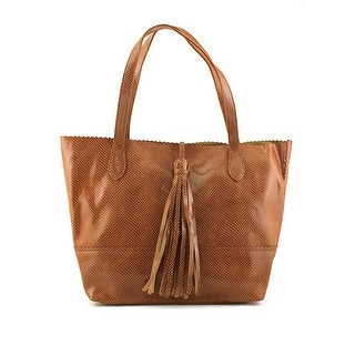 Buco Large Snake Tote Women   Leather Brown Tote
