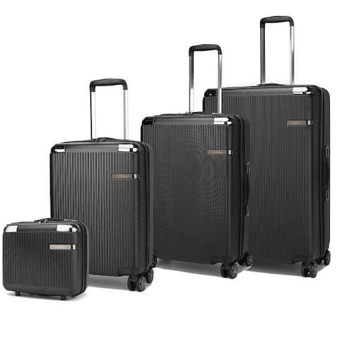 MKF Collection Tulum 4-piece luggage set by Mia K.