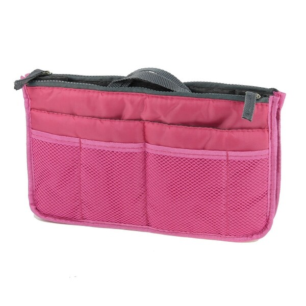 Shop Unique Bargains 13 Pockets Portable Zippered Cosmetic