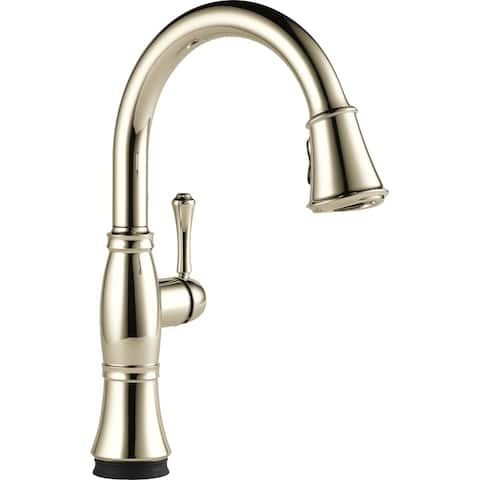 Delta 9197T-DST Cassidy Pull-Down Kitchen Faucet with On/Off Touch