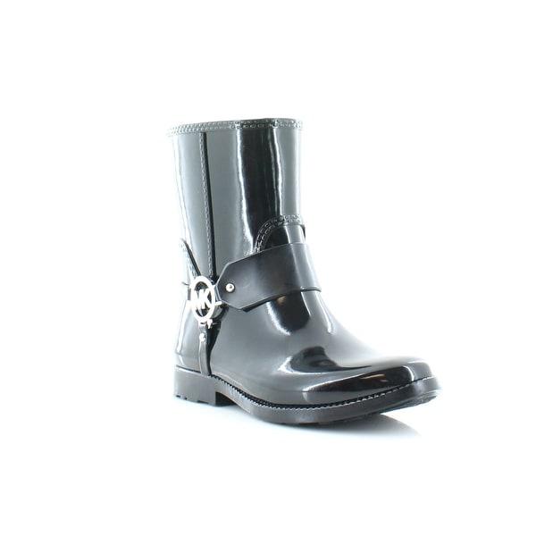 MICHAEL Michael Kors Fulton Harness Rainbootie Women's Boots Black